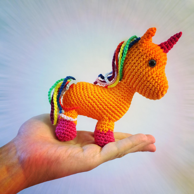 Picomaru the Baby Rainbow Unicorn Amigurumi | It's a lazy da… | Flickr | 2448x2448