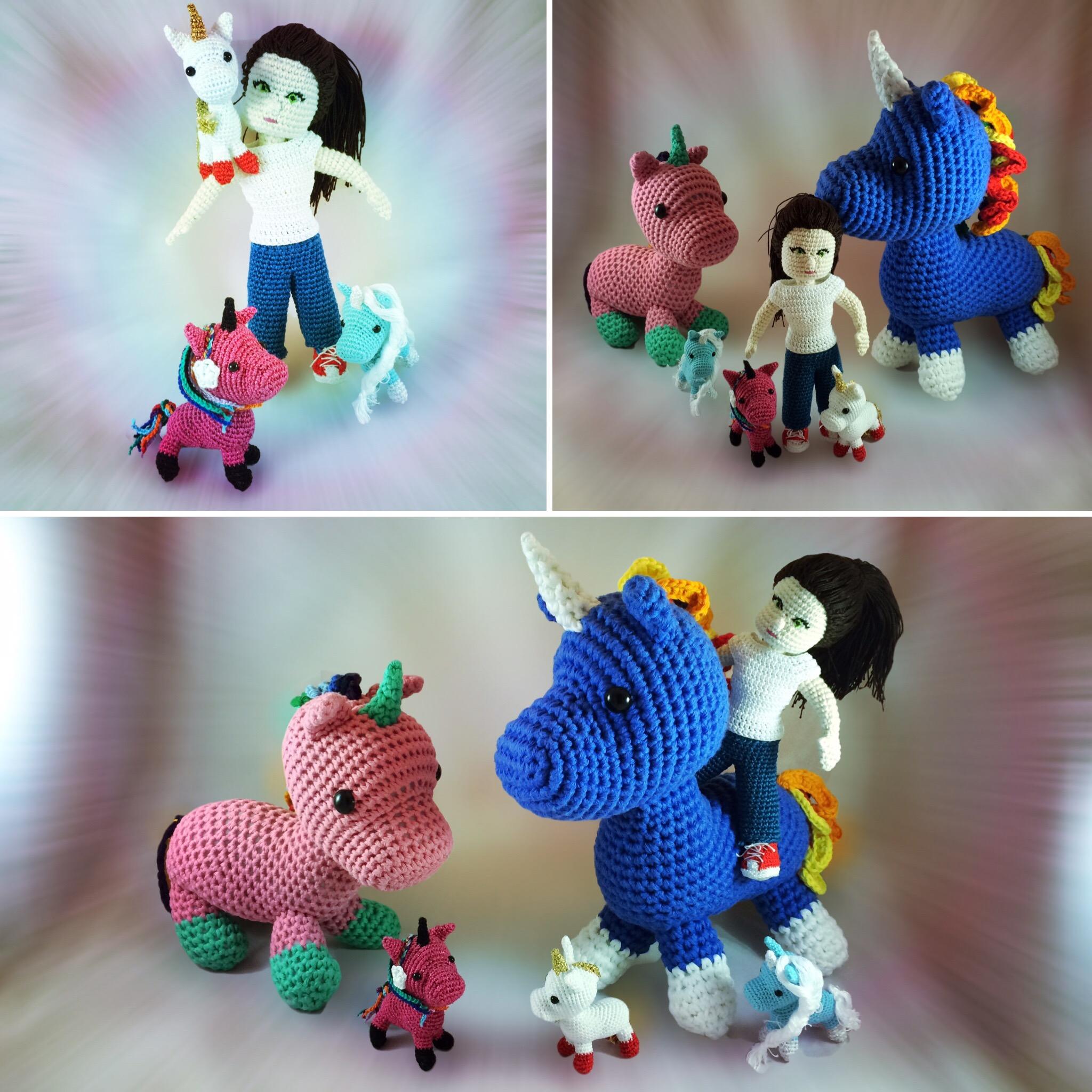 Amigurumi Pegasus Unicorn | 2048x2048