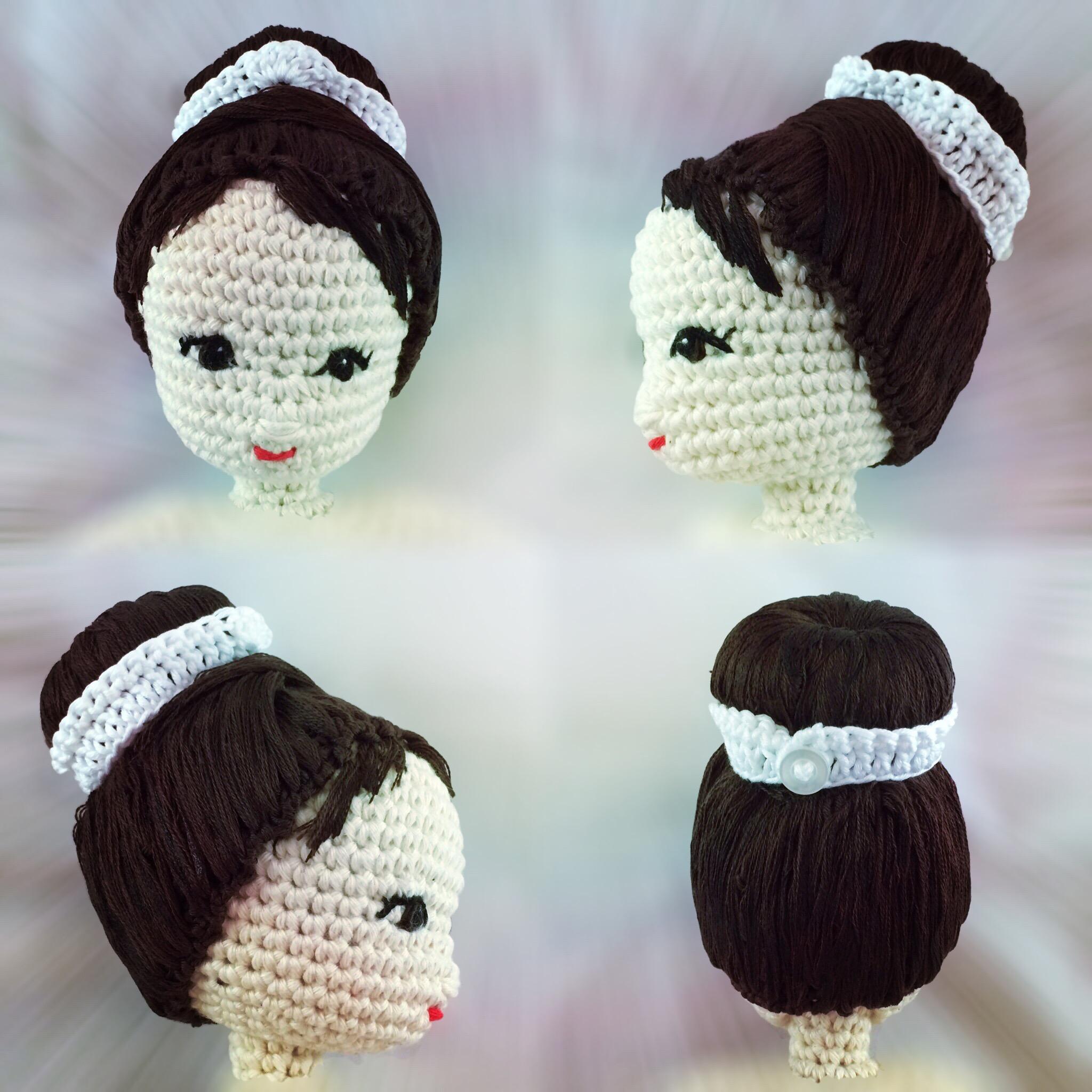 in fotocapelli bamboleuncinetto stile per per Hepburn Tutorial Audrey QtChdsr